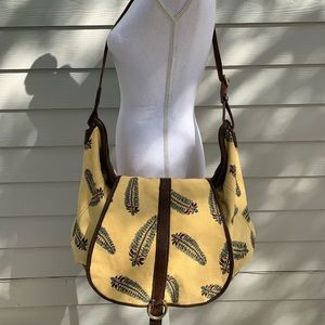 Boho Lucky Brand Runaway Messenger Crossbody Bag